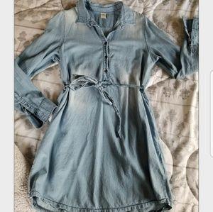 Denim like dress